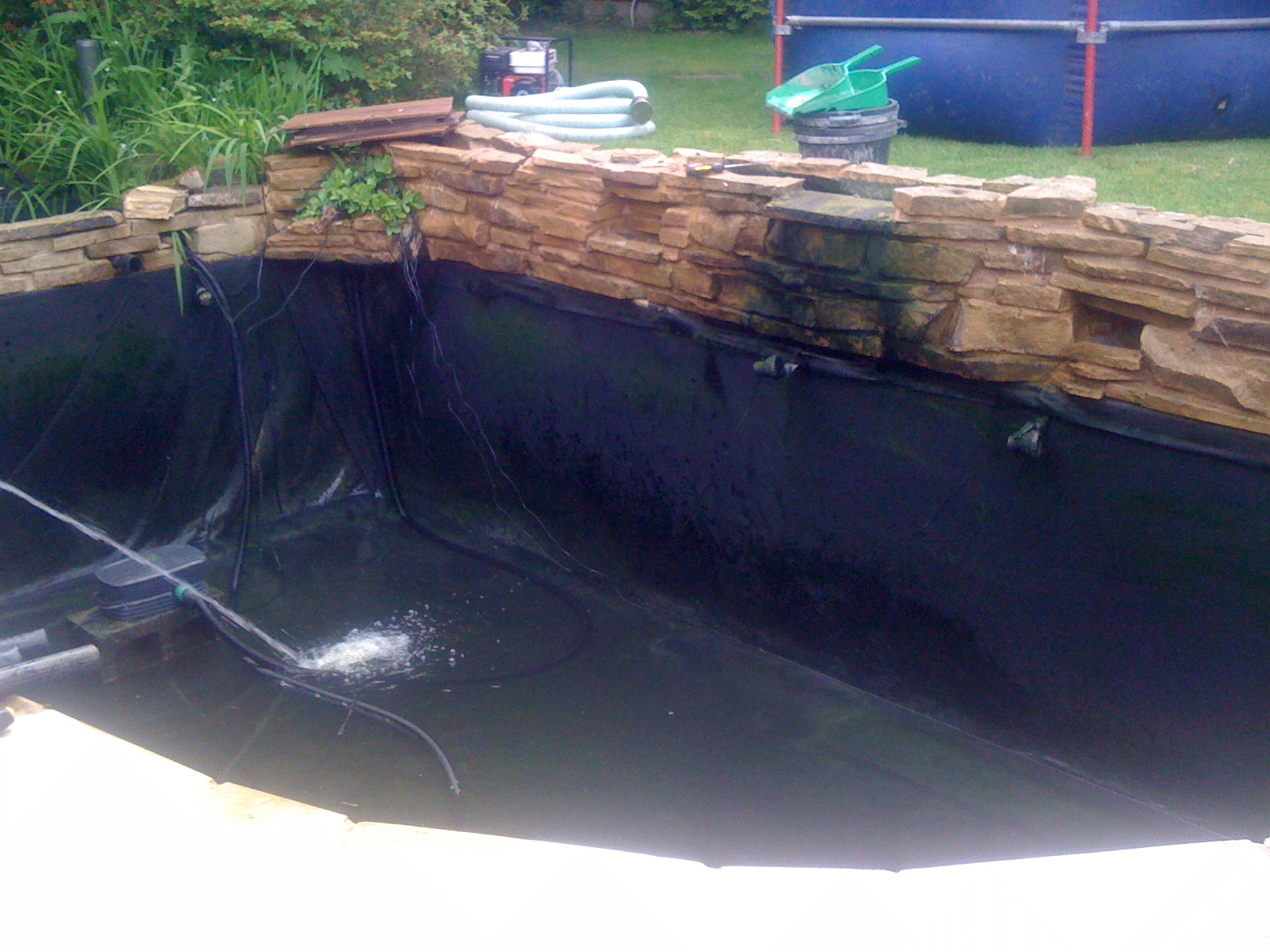pond cleaning haywards heath