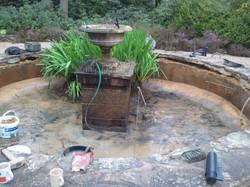 concrete pond Surrey