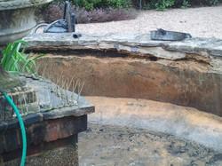 concrete pond