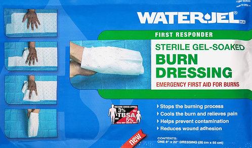 WATER-JEL HA® 0820 Lenços umedecidos em gel para queimaduras