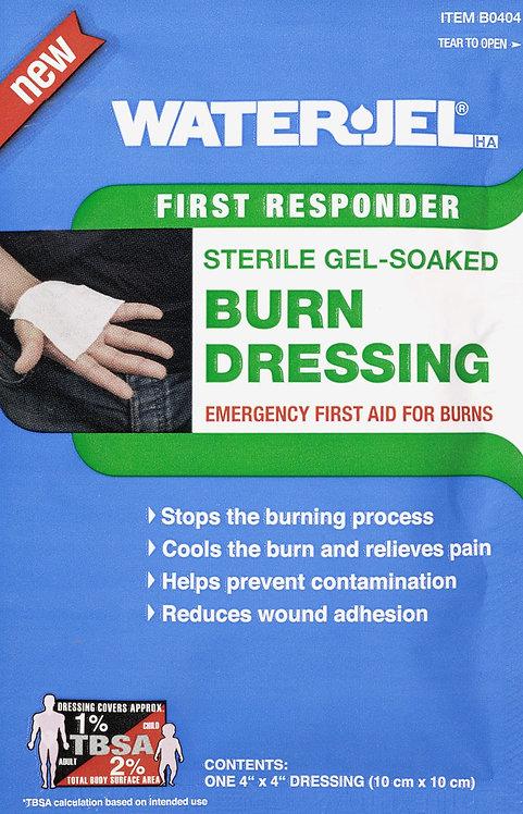 WATER-JEL HA® 0404 Lenços umedecidos em gel para queimaduras