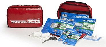 CRITICAL KIT - Kit de curativos de emergência para queimaduras