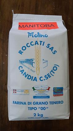 Farina di grano tenero tipo Manitoba  kg 5