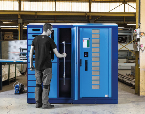 Lockerbox - Industrial Vending solutions