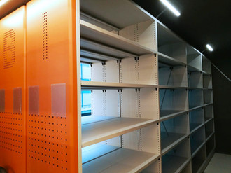 Mobile shelving - Frame