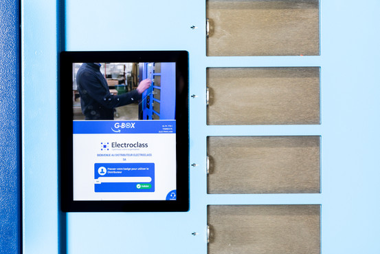 Software Gbox - Industrial Vending Solutions