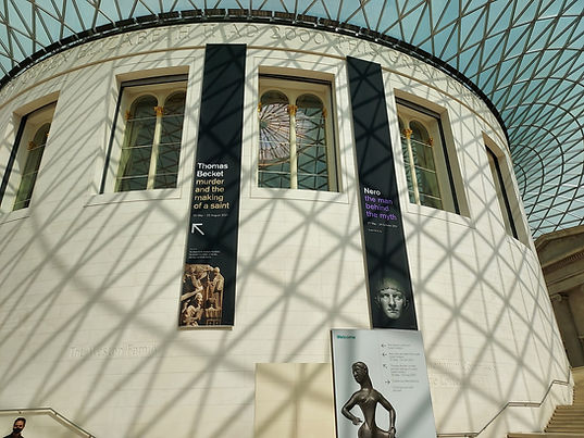 british museum exhibition by connor whiteley