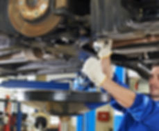 A mechanic performing logbook services in Toowoomba