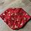 Thumbnail: Christmas Bandanna Bib - Red Santa Sleigh