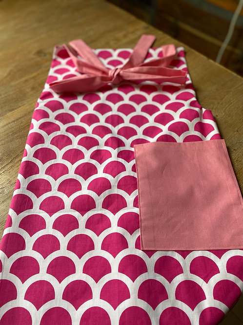 Apron Adult - pink scale
