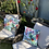 Thumbnail: Outdoor Cushion/Cover - Tropical Bird