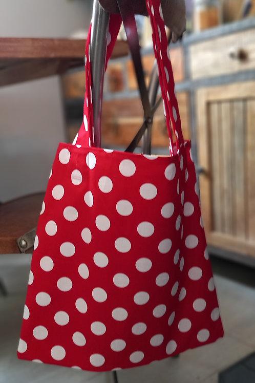 Red Spot Tote Bag