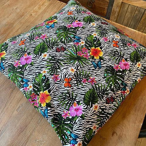 Cushion/Cover - Tropical Zebra