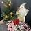 Thumbnail: Christmas Scrunchie - Forest Snowflake