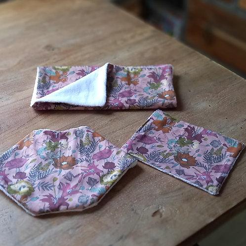 Bandanna Bib - Vintage Floral