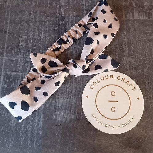 Leopard - Bow Headband