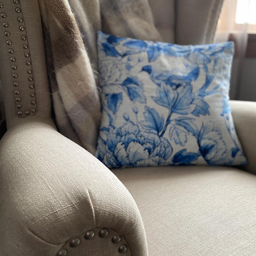 Cushion/Cover - Blue Bird