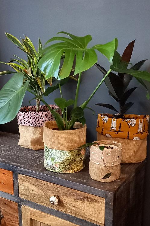 Hessian Plant Bag