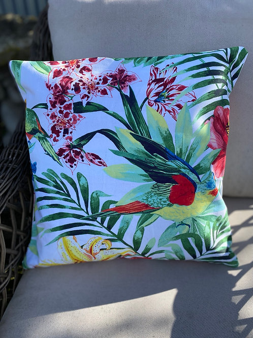 Outdoor Cushion/Cover - Tropical Bird