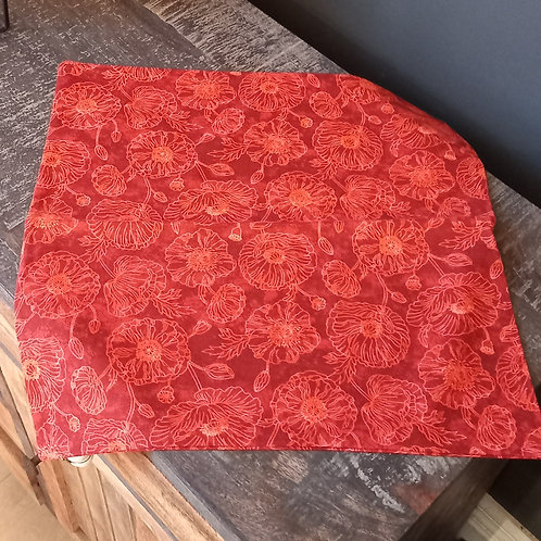 Cushion/Cover - Red Floral