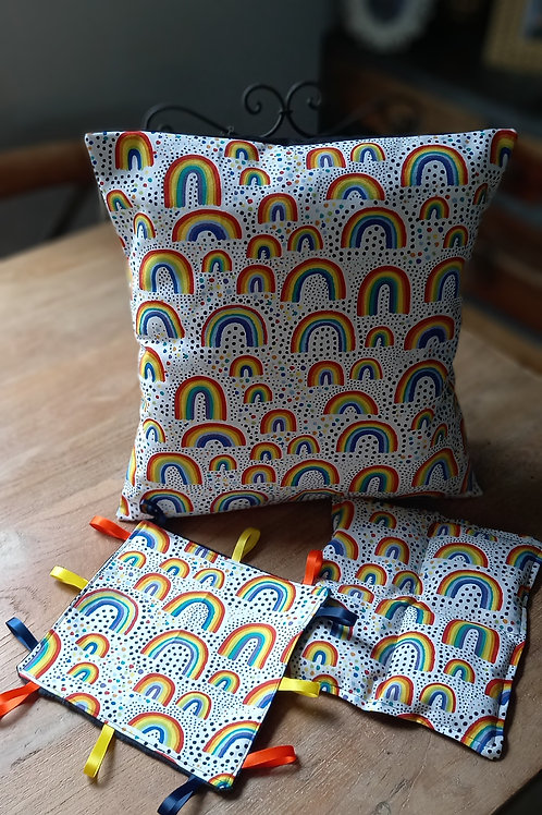 Cushion/Cover - Rainbow