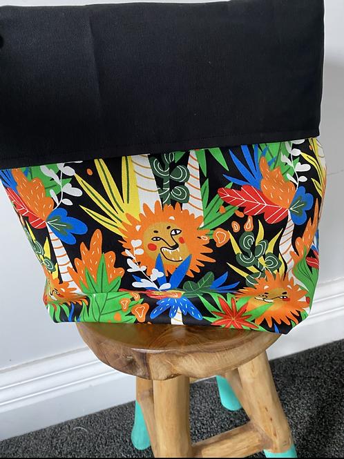 Fabric Storage Bag - Jungle
