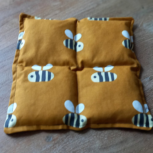 Wheat Bag - Square Buzzy Bee