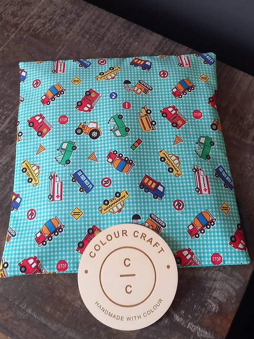 Wheat Bag - Washable Cover Square