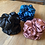 Thumbnail: Scrunchie - satin blue