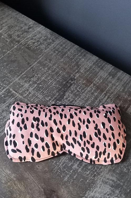Blush Leopard Eye Pillow