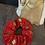 Thumbnail: Christmas Scrunchie - Red Sleigh