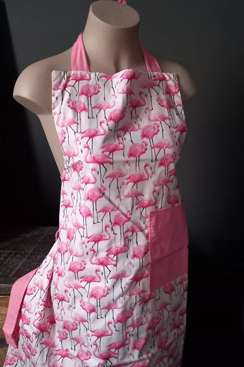 Apron Adult -  Flamingo