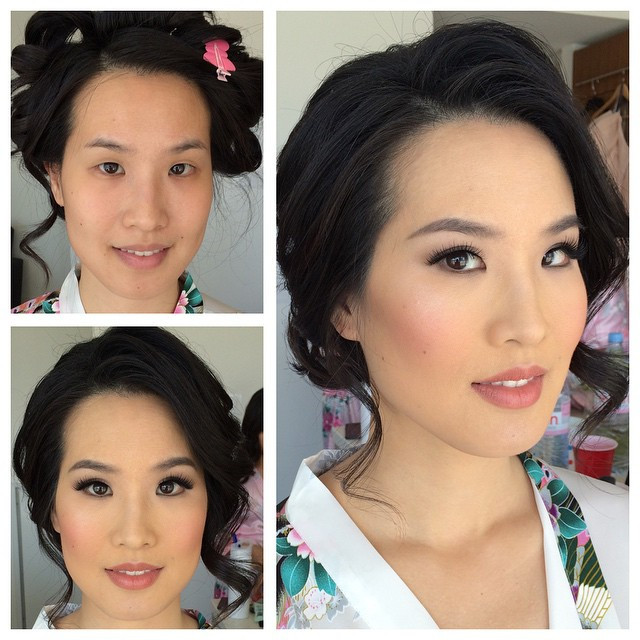 Makeup: Windy Chiu  Hair: Suzie Kim