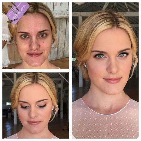 Makeup: Windy Chiu  Hair: Bridal Hair Collective