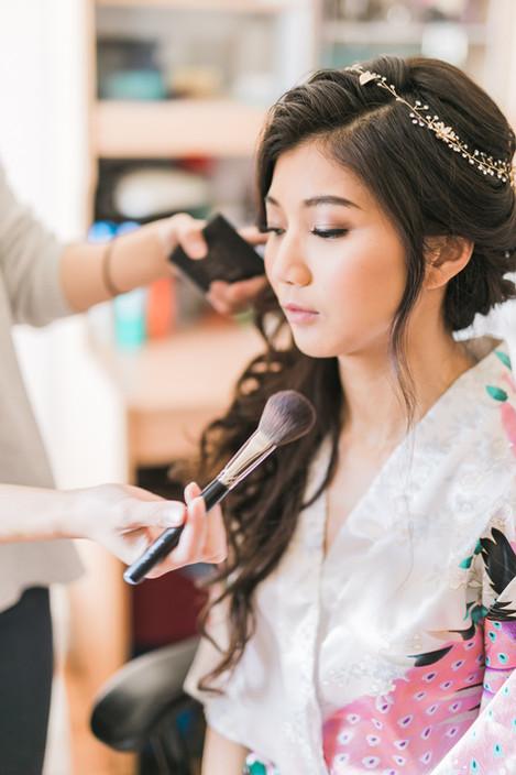 Makeup & Hair for Carmen