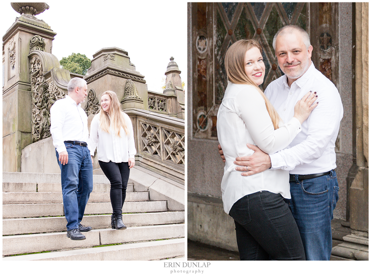 Central Park Anniversary Session: Michel and Rita in New York