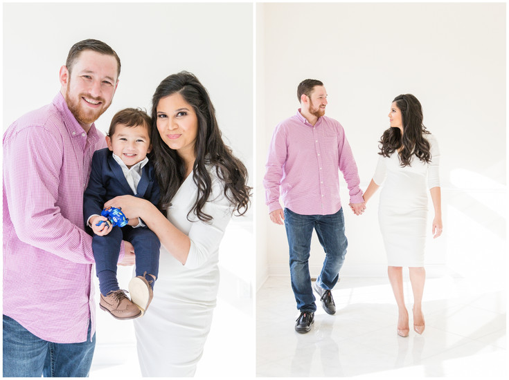 All White Family Session in Cream Ridge, New Jersey