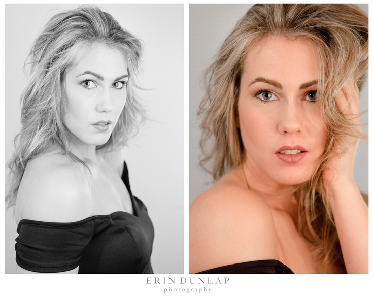 Simple and Classic Headshot Session in Lawrence KS