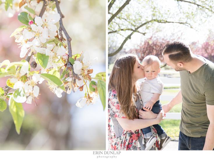 A Springtime Family Session