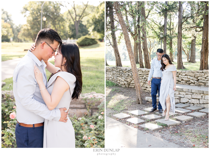 A Graceful and Sweet Kansas City Engagement Session