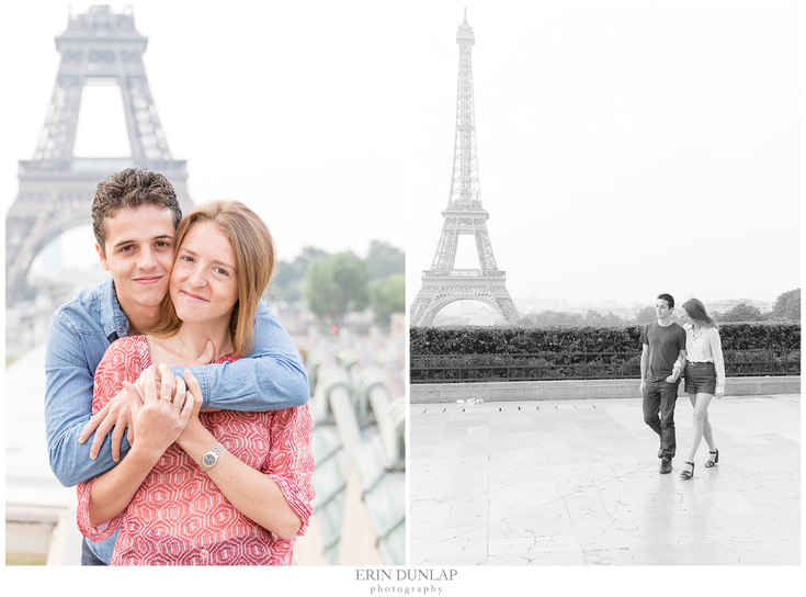 Jessie + Ronan: An Eiffel Tower Sweetheart Session
