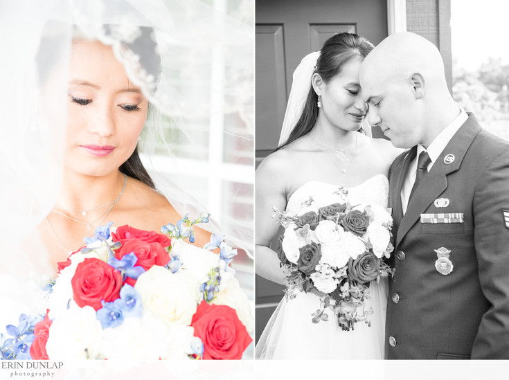 A Bold and Trendy Memorial Day Wedding in Shawnee, Kansas | Joshua and Robin Married