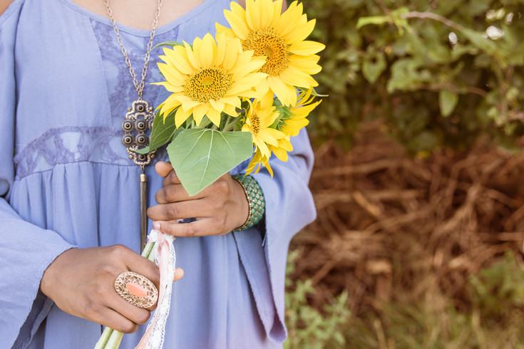 The Darden Sisters Sunflower Session