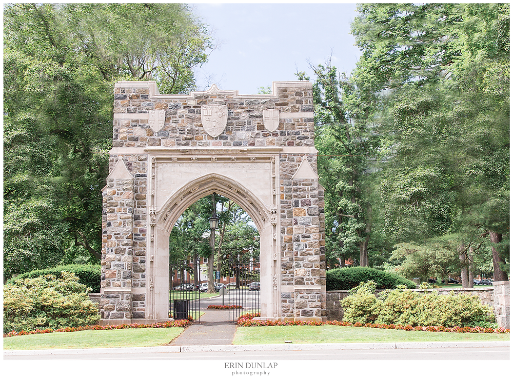 Entrance Gate to Drew University in New Jersey