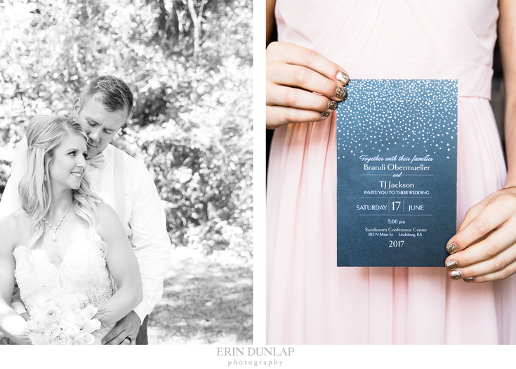 An Elegant Rose Wedding in Lindsborg, Kansas: Brandi & TJ