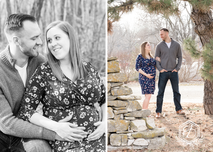 LAUREN AND JAMES MATERNITY SESSION