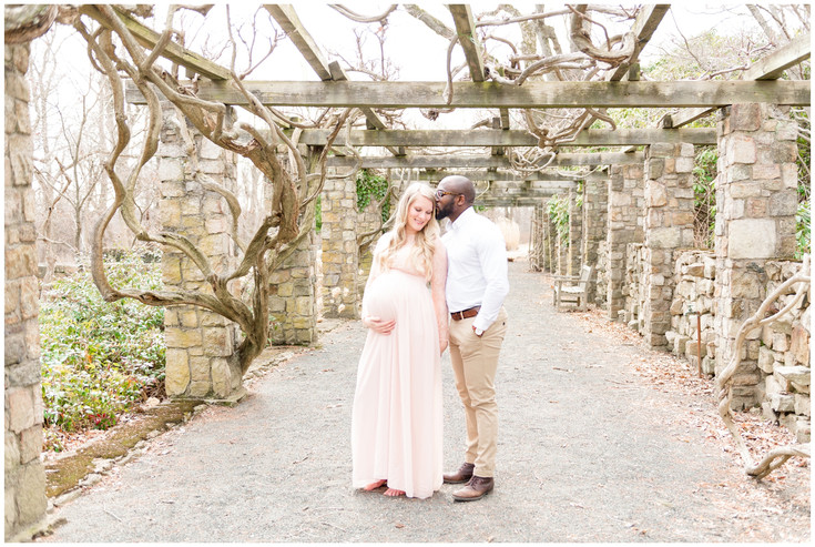 Our Maternity Session at Cross Estate Gardens, New Jersey