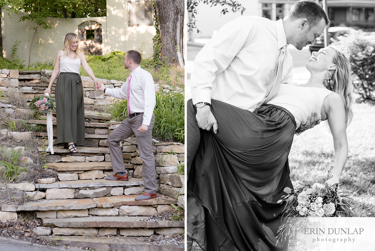 Justin + Hayley | A Romantic Golden Light Session in Lawrence, Kansas