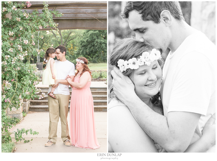 A Charming Rose Garden Family Session in Kansas City: The Scott Family