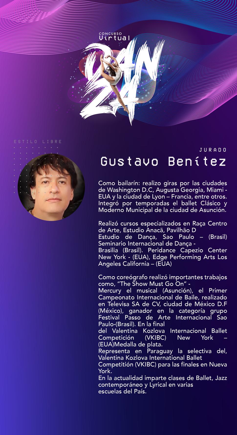 Jurado: Gustavo Benítez